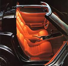 Custom Corvette Interior 1980 Corvette C3 Improved Seats
