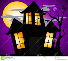 haunted house scene royalty free stock image image 3234506