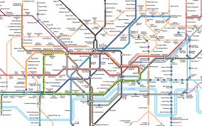 underground map transport for tfl has up a map to help