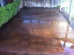 Concrete Stain Colors For Patios Patio Concrete Staining Coppell Tx 14 Esr Decorative Concrete