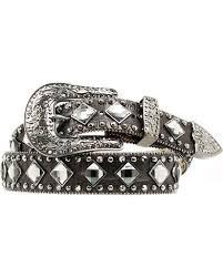 diamond studded nocona croc print diamond studded belt boot barn