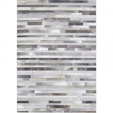 Grey Cowhide Rug Cow Hide Rug Grey Stripes By Bayliss Clickon Furniture
