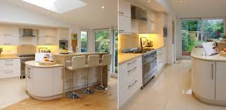 Designer Fitted Kitchens by Nolan Kitchens Cream High Gloss Kitchen