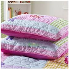 Girls Patchwork Bedding by Chausub New Patchwork Quilt Set 2pc Applique Quilts Washed Cotton