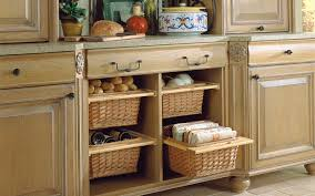 wicker baskets wood mode fine custom cabinetry