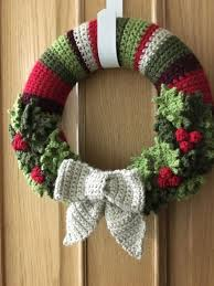 483 best crocheted wreaths images on crochet wreath