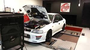 subaru gc8 interior 1996 subaru impreza wrx sti version iii type ra dyno youtube