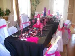 decorations for fashion show parties fashion diva table settings