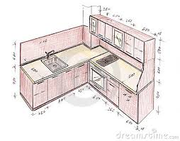 Kitchen Design Drawings Diagramm Kitchen Design Drawing 3 Badcantina