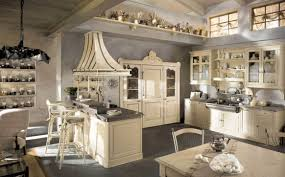 cream kitchen cabinets with grey walls designs