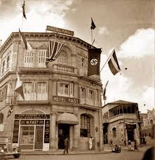 Flag Of Jerusalem Why Was A Flag Flying From A Jerusalem Hotel In The 1930s