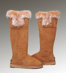 ugg sale com ugg boots with bows ugg fox fur boots 1852 chestnut