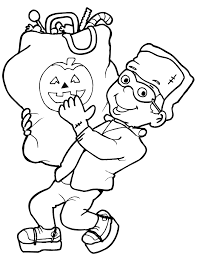 hallowen coloring pages halloween coloring pages for kids free coloring pictures