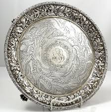 engraved silver platter 108 best antique silver salvers images on antique