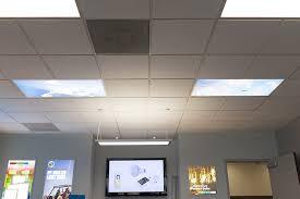 Led Ceiling Light Panels Led Skylight W Sun Beams Skylens 2x4 Dimmable Led Panel Light