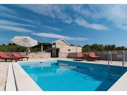House With Pool Holiday Home Dalmatia Stone House With Pool Sumartin Croatia