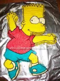 coolest bart simpson cake