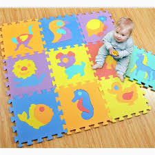 tappeti puzzle 10 pz set giocattoli bambino play mat tappeti puzzle gioco lo