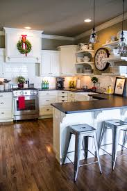 Christmas Decoration Ideas For Kitchen Holiday Home Tour Classic Christmas Decor