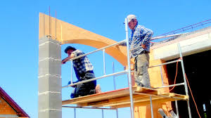 building a house step by full hd at formwork slab concrete arches