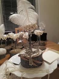 great gatsby centerpieces my diy great gatsby centerpieces craftsbycharm