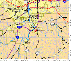 oregon map with cities map oregon city oregon map