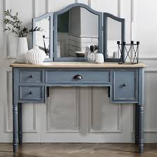 parisienne french classic dresser console with standing mirror