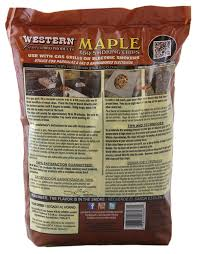 amazon com western 28067 maple bbq smoking chips smoker chips