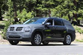 volkswagen 7 passenger suv vw u0027s seven seat suv caught testing in the rockies autoguide com news