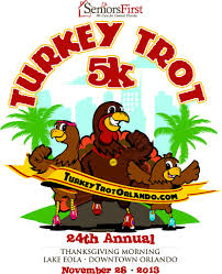 thanksgiving dinner orlando seniors first u0027s turkey trot 5k today u0027s orlando