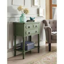 Green Console Table Green Console Tables Accent Tables The Home Depot
