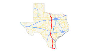 Texas State Park Map by U S Route 281 In Texas Wikipedia