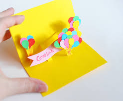 how to make a simple pop up birthday card homemade pop up birthday