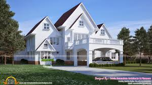 house design styles american style house in kerala kerala home design and american