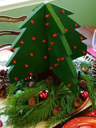 how to build a wooden christmas tree centerpiece how tos diy