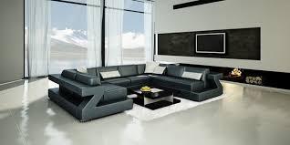 showroom canape canapé d angle en cuir italien zadig