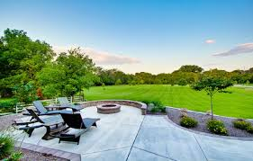 concrete patio designs with fire pit http lanewstalk com