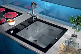Modern Kitchen Sink Design by Placement Colorful Sink Is A Simple Way To Create A Decor Accent