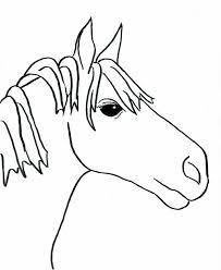 easy horse drawings for kids images pictures becuo clip art