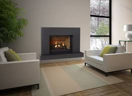 Contemporary Gas Fireplace Insert by Fireplaces U2014 Smith U0026 May Inc