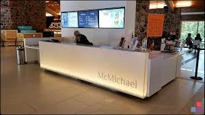 Corian Reception Desk Mcmichael Art Gallery Reception Desk Willsëns Architectural