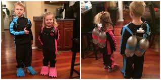 halloween costumes parents can make with stuff around house