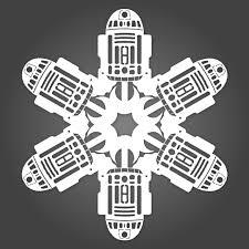 it u0027s snowing star wars 10 new diy star wars paper snowflake