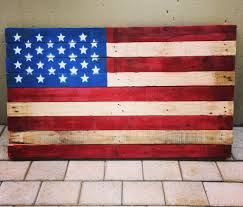Flag With Red Yellow And Green Vertical Stripes American Flag Pallet 4 Steps With Pictures