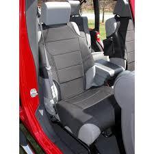 seat covers jeep wrangler amazon com rugged ridge 13235 20 black neoprene front seat