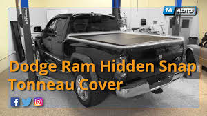 Dodge 1500 Truck Bed Cover - how to install hidden snap 6 1 2 foot bed tonneau cover 2002 08