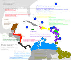 Map Of Caribbean Islands And South America by Haven U0027t Seen Any