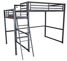 lit mezzanine noir avec bureau lit mezzanine 2 places métal noir 140 ultramat lestendances fr