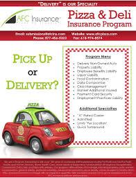 Pizza Delivery Resume Pizza Delivery Insurance Deli Delivery Insurance