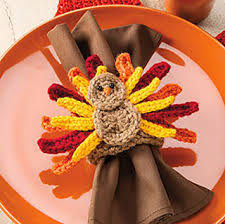 turkey napkin ring ravelry turkey napkin ring pattern by e